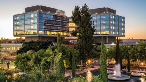 New Stanford Hospital Receives Temporary Certificate of Occupancy (Photo: Business Wire)