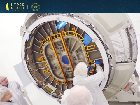 By contracting with Hypergiant SEOPS, the high-altitude ISS deployment provides a consistent, low-risk launch option for smallsats (Photo: Business Wire)