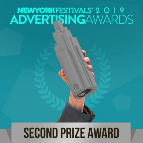 Silver Advertising Award at New York Festivals 2019. The world's largest international advertising awards (Graphic: Business Wire)