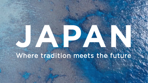 Work: JAPAN - Where Tradition Meets the Future (Graphic: Business Wire)