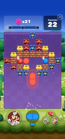 Nintendo's newest mobile game, Dr. Mario World, is now available for iOS and Android devices. In this free-to-start puzzle and virus-matching puzzle game, meddlesome viruses have the in-game world in a panic, and Dr. Mario and friends must eliminate them by matching capsules with viruses of the same color. (Graphic: Business Wire)