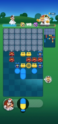 Dr. Mario World can also be played together with friends and family around the world. In Versus Mode, players can turn up the intensity by challenging their friends or any other players online to a one-on-one showdown in real time. (Graphic: Business Wire)