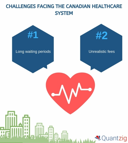 Challenges Facing the Canadian Healthcare System (Graphic: Business Wire)