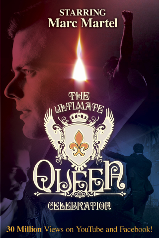 Ultimate Queen Celebration, starring Marc Martel, performs at the SugarHouse Casino Event Center on Friday, Oct. 11, at 8 p.m. (Graphic: Business Wire)