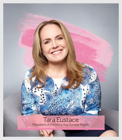 Tara Eustace, President of the Mary Kay Europe Region. (Photo: Mary Kay Inc.)