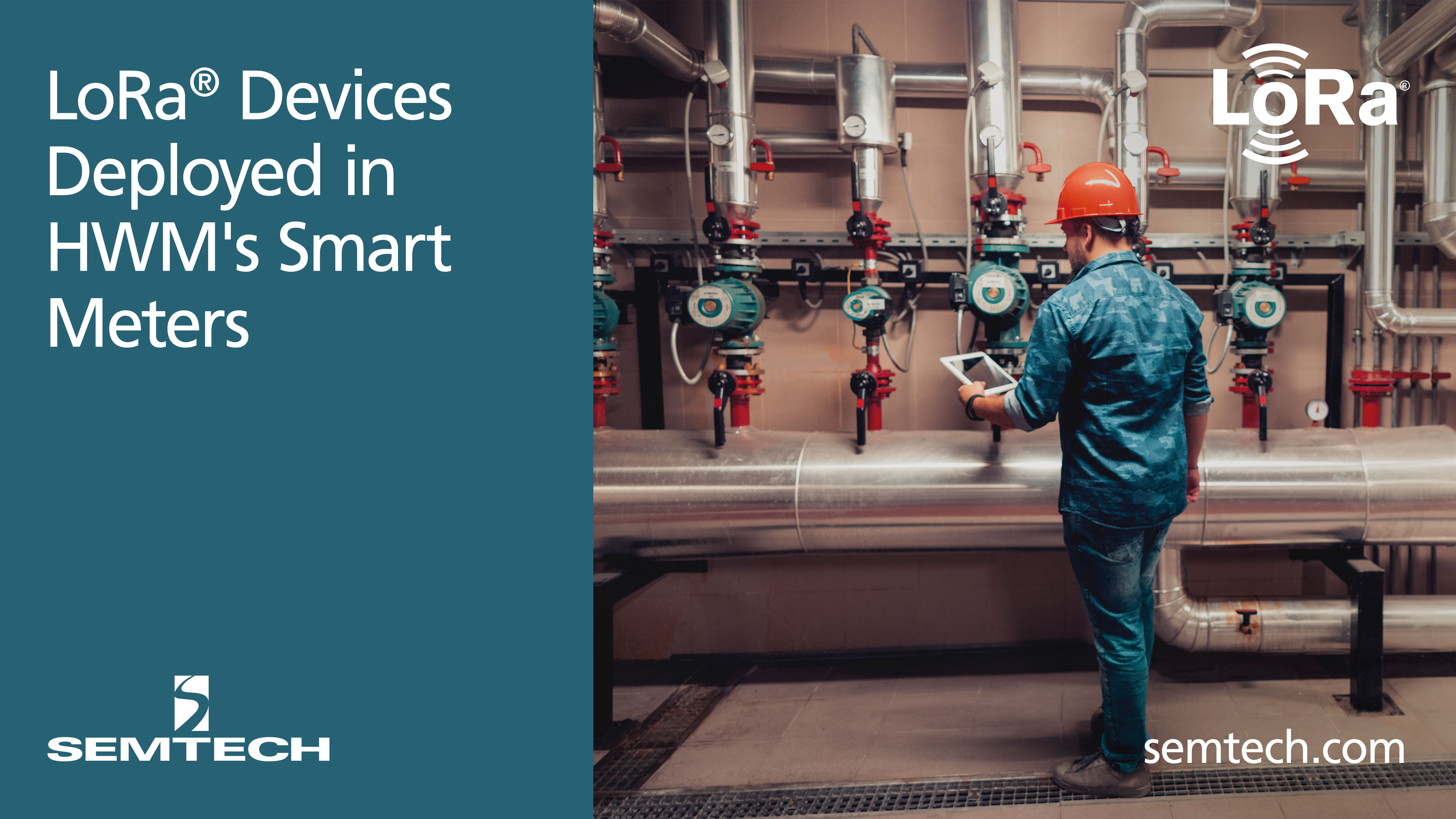 Semtech's LoRa Devices Successfully Deployed in HWM's Water Meter