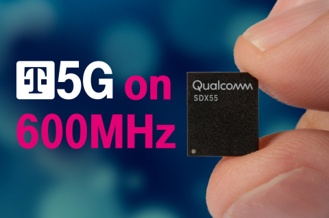 One Step Closer to Nationwide 5G: T-Mobile, Qualcomm and Ericsson take Massive Step Toward Delivering Broad 5G on Low-Band Spectrum (Photo: Business Wire)