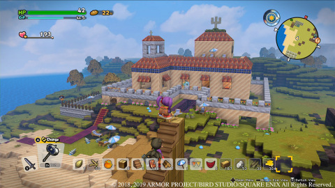 The DRAGON QUEST BUILDERS 2 game will be available on July 12. (Photo: Business Wire)