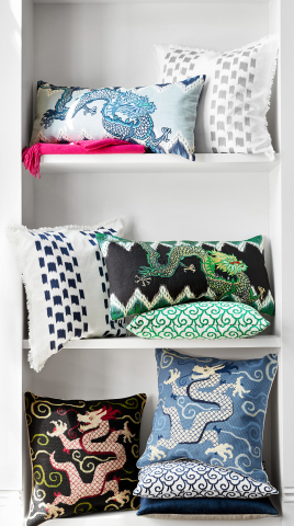 Schumacher by Williams Sonoma Home Pillows (Photo: Business Wire)