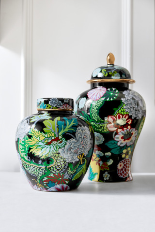 Schumacher by Williams Sonoma Home Ginger Jars (Photo: Business Wire)