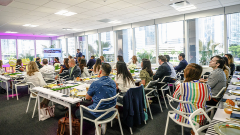 Unconvention: Miami Breakfast Series, June 2019. (Photo: Business Wire)