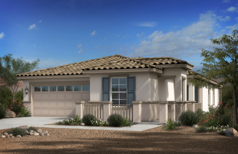 New KB homes now available in Phoenix. (Photo: Business Wire)