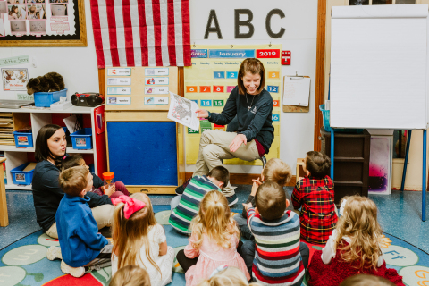 To celebrate KinderCare's 50th birthday, the company announced the KinderCare Kids Scholarship Fund, a new annual scholarship program that recognizes the achievements of college-bound alumni. (Photo: Business Wire)
