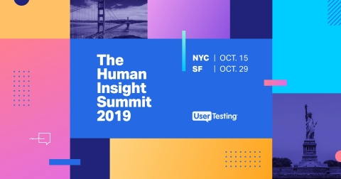 UserTesting Human Insight Summit (Graphic: Business Wire)
