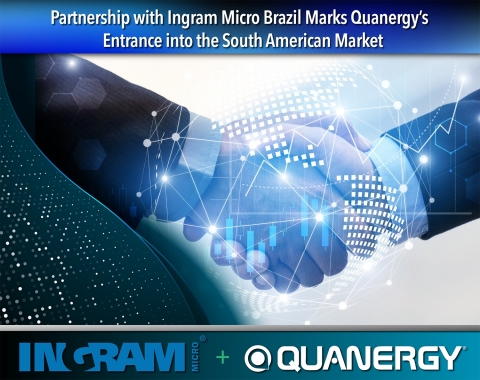 Partnership with Ingram Micro Brazil Marks Quanergy's Entrance into the South American Market (Photo: Business Wire)