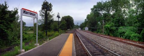 Harriman Metro North Station (Photo: Business Wire)