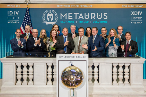 Metaurus Advisors is Granted Patent for the First-Ever Splitting of an Equity Index into Separate Components of Dividends and Price (Photo: Business Wire)