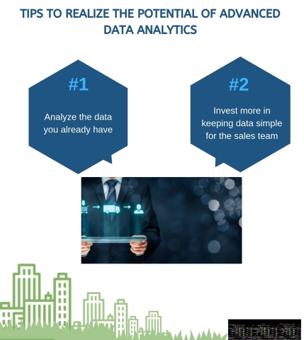 Tips to Realize the Potential of Advanced Data Analytics. (Graphic: Business Wire)