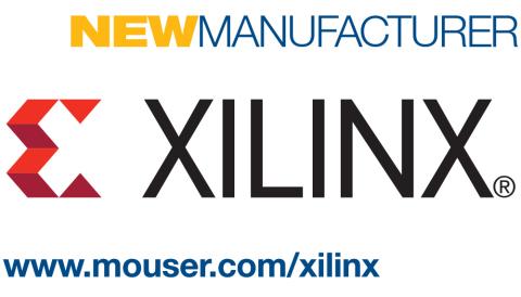 Mouser Electronics ahora posee una amplia cartera de productos Xilinx