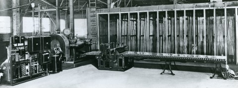 Hazelett continuous strip caster for lead in the early 1920s (Photo: Business Wire)