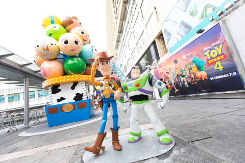 Large Scale Toy Story Carnival at Harbour City in Hong Kong (Photo: Business Wire)
