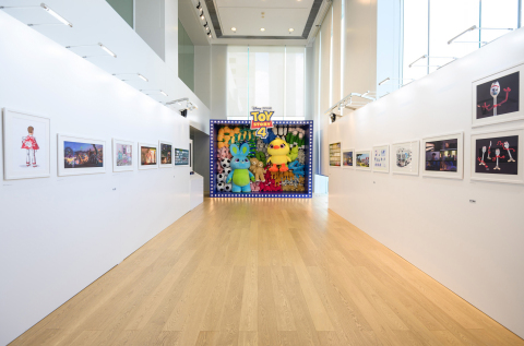 The Art of Toy Story 4 Exhibit (Photo: Business Wire)
