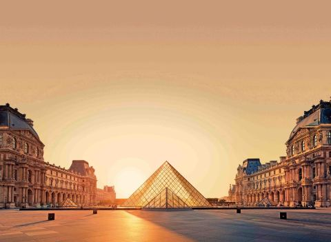 La Pyramide du Louvre (Photo : Accenture)