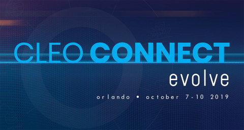 """Join us at Cleo Connect 2019 in Orlando, Oct.7-10, 2019 to """"evolve"""" your understanding, network, technology and business. (Photo: Business Wire)"""