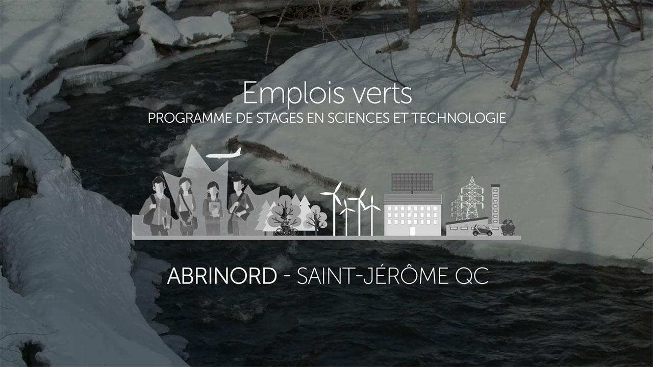 Témoignage : Abrinord - Programme de stages en S-T - Emplois Verts