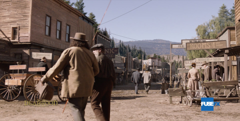 Deadwood: The Movie, nominated for Best Supporting Visual Effects Emmy®
