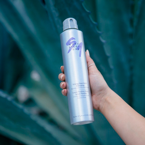 Conquer humidity and frizz with MONAT Studio One Strong Flexi-Hold Hairspray (Photo: Business Wire)