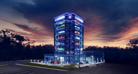 Greensboro Now Home to Carvana's 19th Car Vending Machine, Third of its Kind in North Carolina. (Photo: Business Wire)