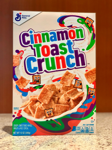 Cinnamon Toast Crunch reveals exciting new look hitting shelves this fall. (Photo: General Mills)