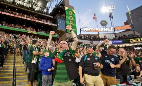 Providence Park transformation highlighted by the highest quality video displays on the market. (Photo: Business Wire)