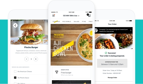 PINCHO App by Thanx (Graphic: Business Wire)