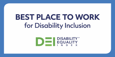 First Data has been recognized as a Best Place to Work for Disability Inclusion as part of the 2019 Disability Equality Index® (DEI) (Graphic: Business Wire)