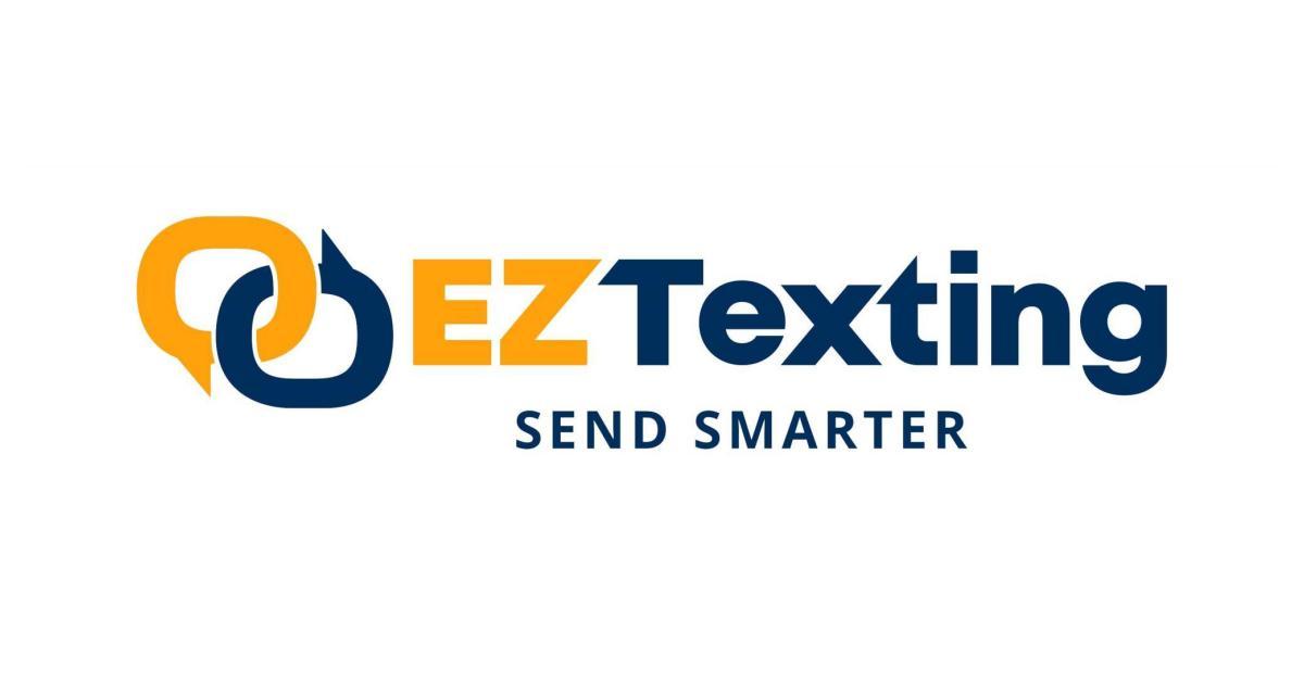 Eztexting logo full color horizontal