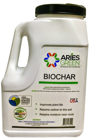 Aries GREEN™ one-gallon plastic jug with shaker lid. (Photo: Business Wire)