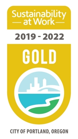 Sustainability at Work Gold Certification (Graphic: Business Wire)