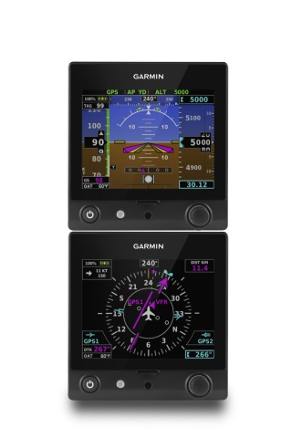 Dual G5 electronic flight instruments (Photo: Business Wire)