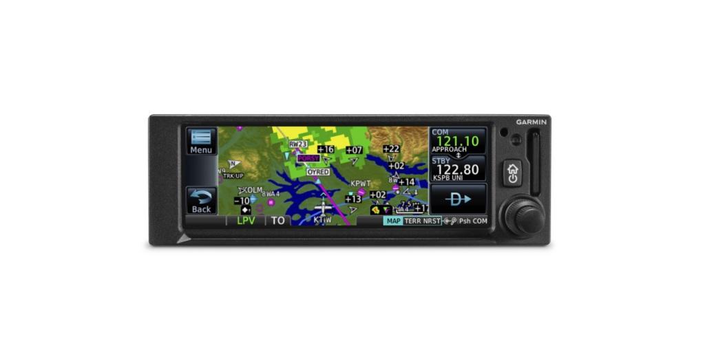 Garmin® introduces the GNC 355 GPS/Comm radio with LPV approaches
