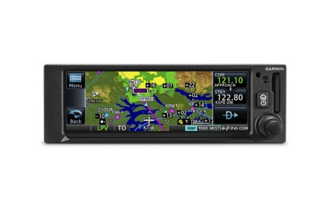 GNC 355 GPS navigator with built-in Comm radio. (Photo: Business Wire)