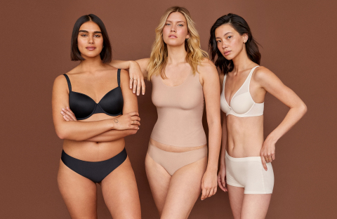 Bras and underwear from ThirdLove's new fall collection, to be featured at the retail concept store (Photo: Business Wire)