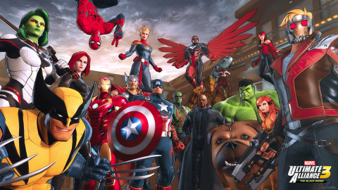 The MARVEL ULTIMATE ALLIANCE series returns for the first time in 10 years with a new action RPG exclusively on the Nintendo Switch system. (Photo: Business Wire)