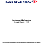 Q2 2019 Bank of America Supplemental Information (Graphic: Business Wire)