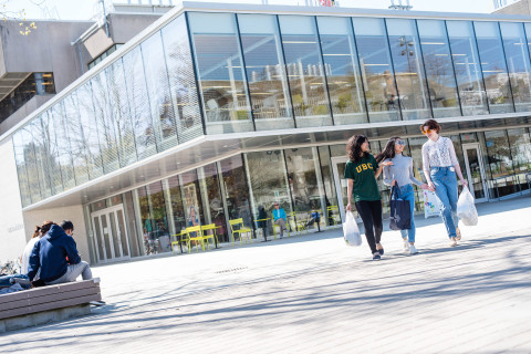 UBC BookStore - Main Campus, Vancouver BC (Photo: UBC Bookstore)