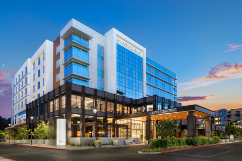 Hyatt Centric Mountain View Exterior (Photo: Business Wire)