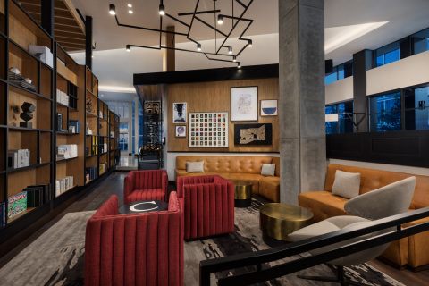 Hyatt Centric Mountain View Library (Photo: Business Wire)