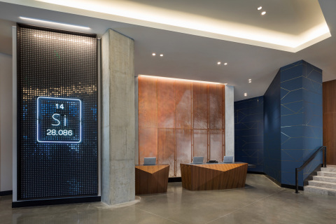 Hyatt Centric Mountain View Front Desk (Photo: Business Wire)