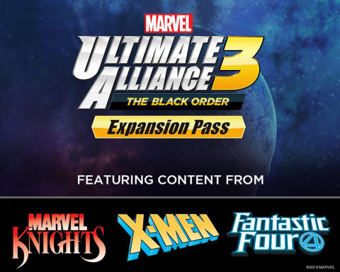 With the paid Expansion Pass for $19.99, players get access to three exclusive DLC packs as they release. These packs, which won't be available for individual purchase, will include story content and playable characters from popular franchises like the Fantastic Four, X-Men and Marvel Knights. (Graphic: Business Wire)